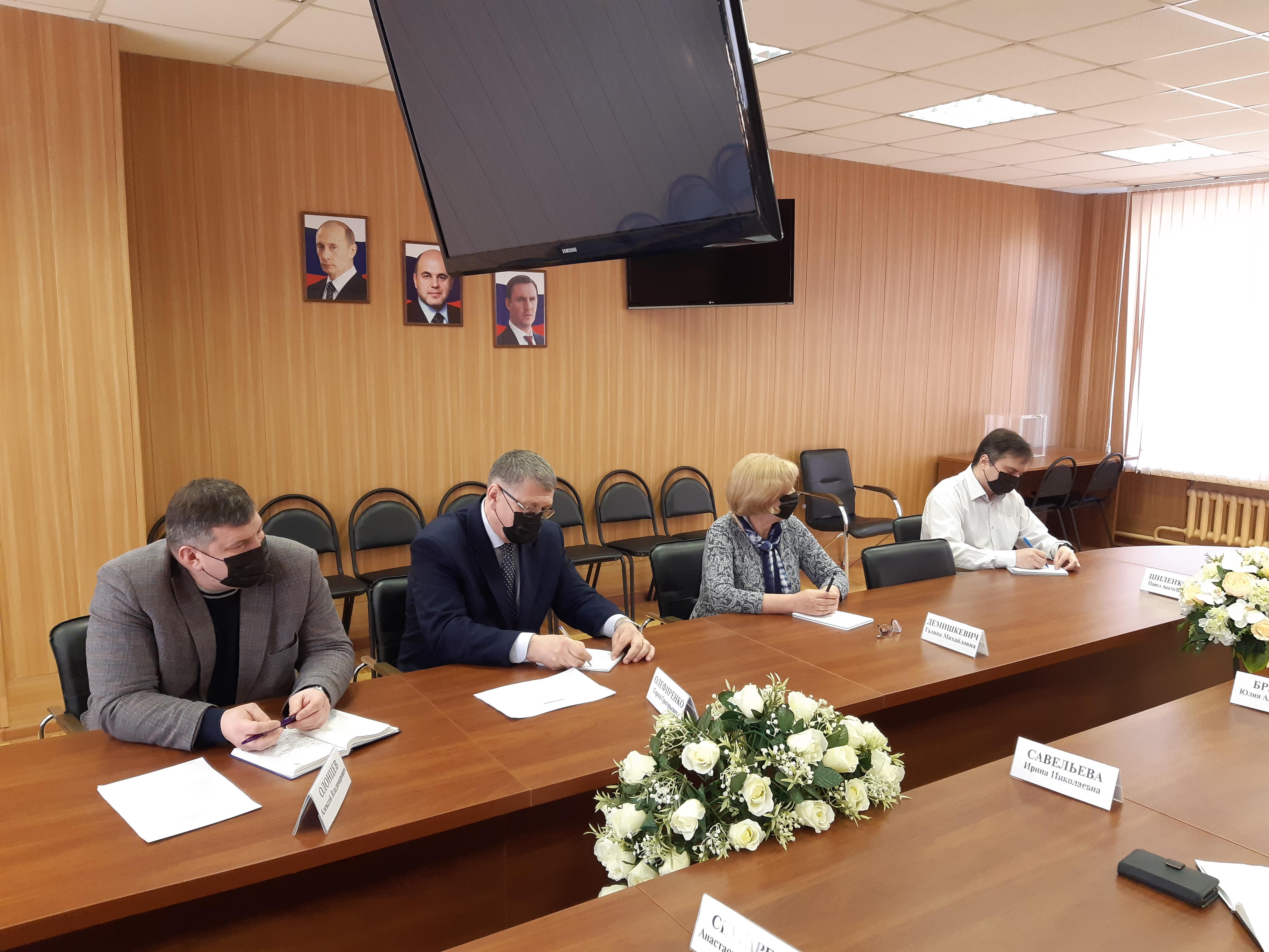Оперативное совещание руководящего состава ФГБОУ ДПО РАКО АПК