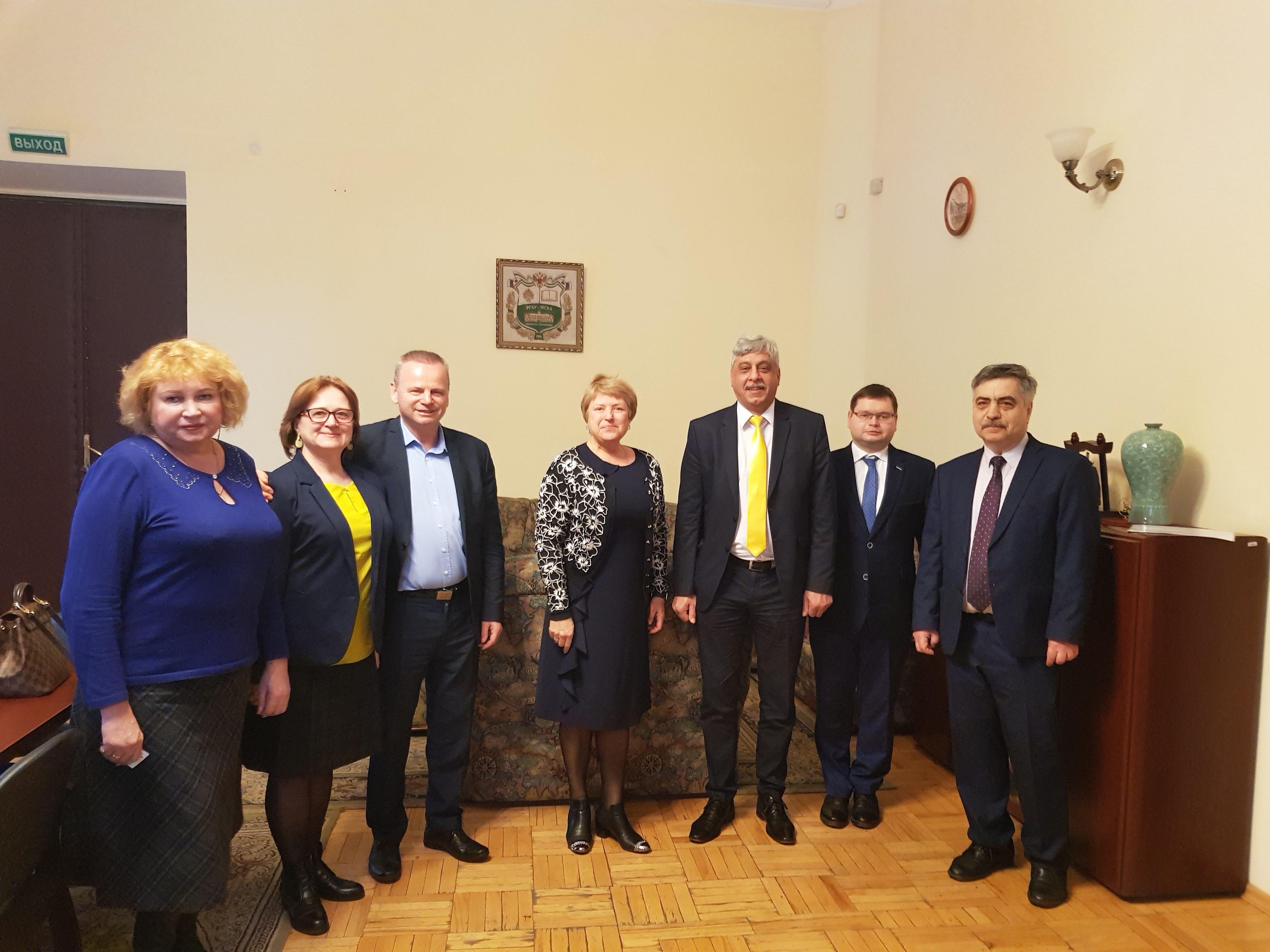 Деловая встреча с делегацией Университета Святого Иштвана, Венгрия