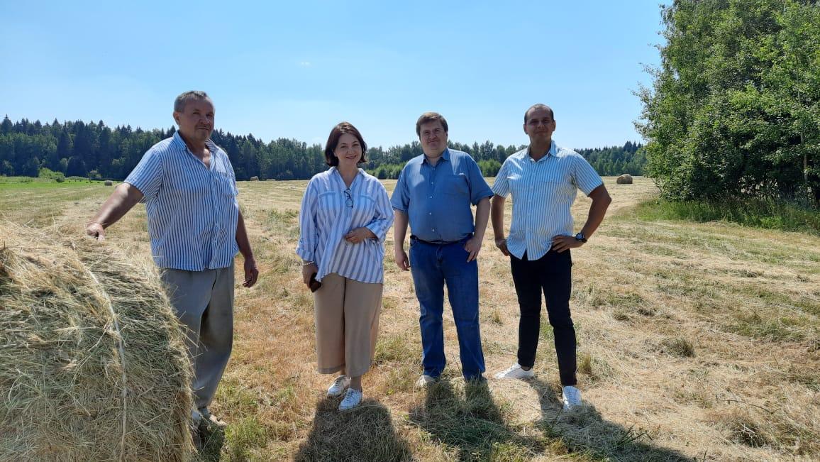 В рамках обсуждения инновационного развития Академии руководство посетило Федеральный центр сельскохозяйственного консультирования